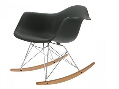 Bild von Stuhl-Design Eames Rocking Chair RAR - Anthrazit