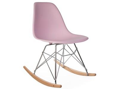 Bild von Stuhl-Design Eames  Schaukelstuhl RSR - Pastellrosa