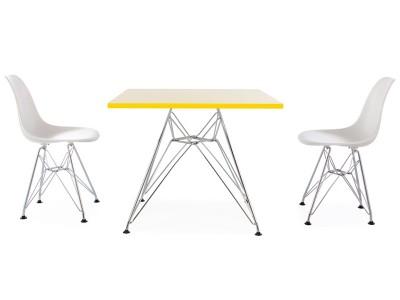 Bild von Stuhl-Design Eiffel Kinder Tisch - 2 DSR Stühle