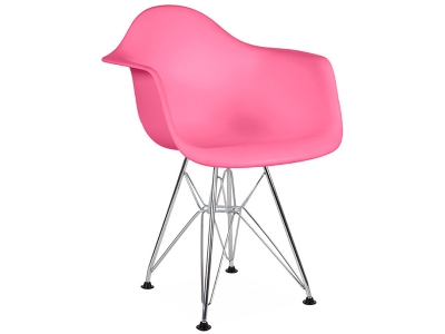 Bild von Stuhl-Design Kinder Stuhl Eames DAR - Rosa