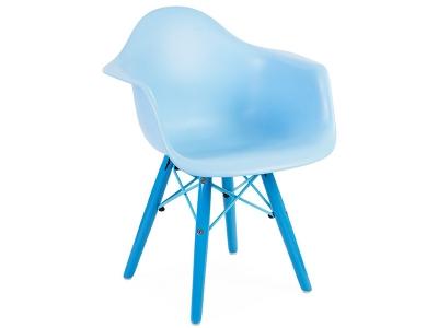 Bild von Stuhl-Design Kinder Stuhl Eames DAW Color - Blau