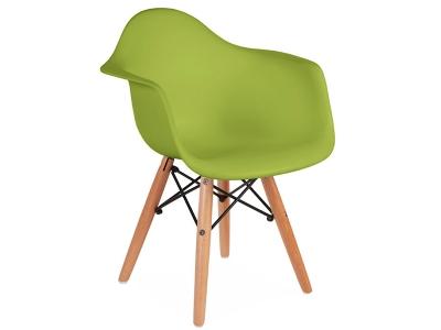 Bild Von Stuhl Design Kinder Stuhl Eames DAW   Grün