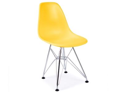 Bild von Stuhl-Design Kinder Stuhl Eames DSR - Gelb