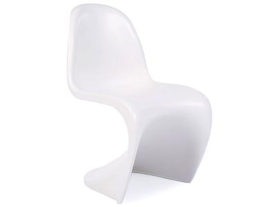 Bild von Stuhl-Design Kinder Stuhl Panton - Weiß