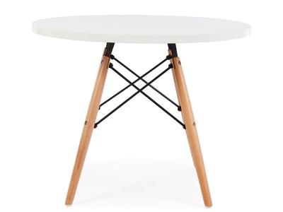 Bild von Stuhl-Design Kinder Tisch Eames - Weiß