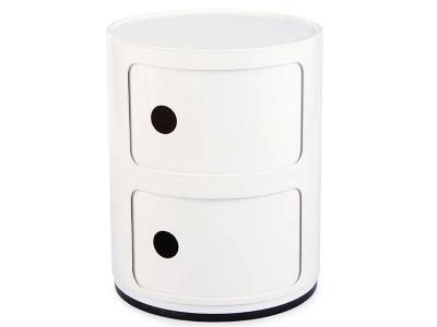 Bild von Stuhl-Design Klassisch Componibili 2 - Weiß