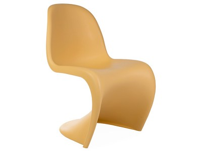 Bild von Stuhl-Design Panton Stuhl - Orange