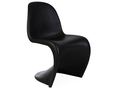 Bild von Stuhl-Design Panton Stuhl - Schwarz