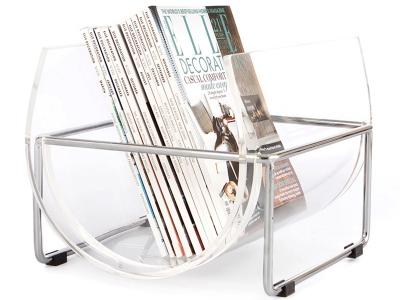 Bild von Stuhl-Design Zeitungsständer The Basin - Transparent