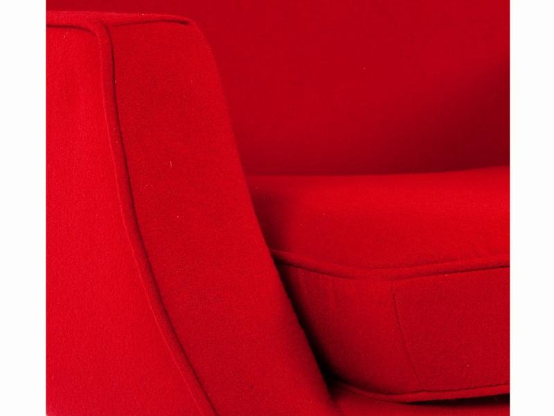 Image du fauteuil design Canapé Lusk 2 places - Rouge