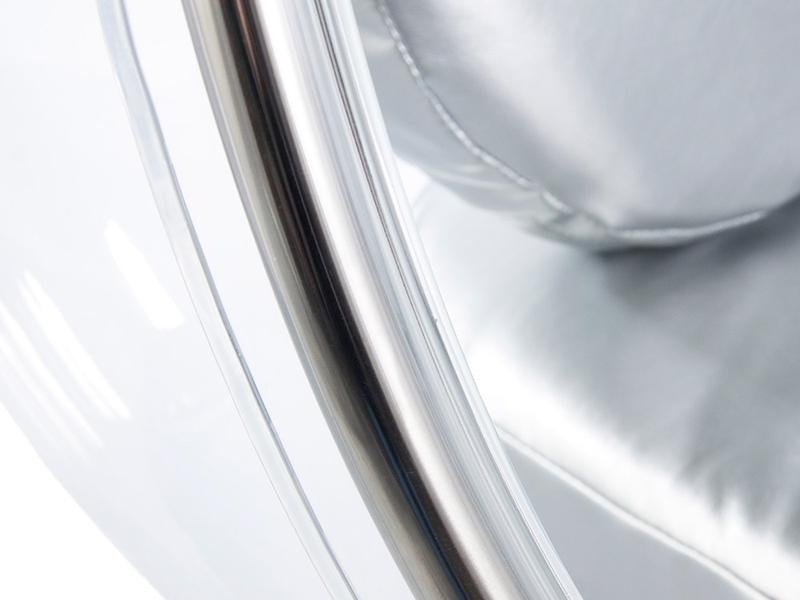 Image du fauteuil design Chaise Bubble Eero Aarnio - Argent