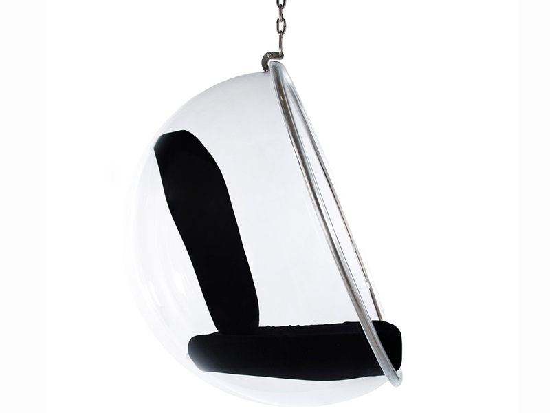 Image du fauteuil design Chaise Bubble Eero Aarnio - Noir