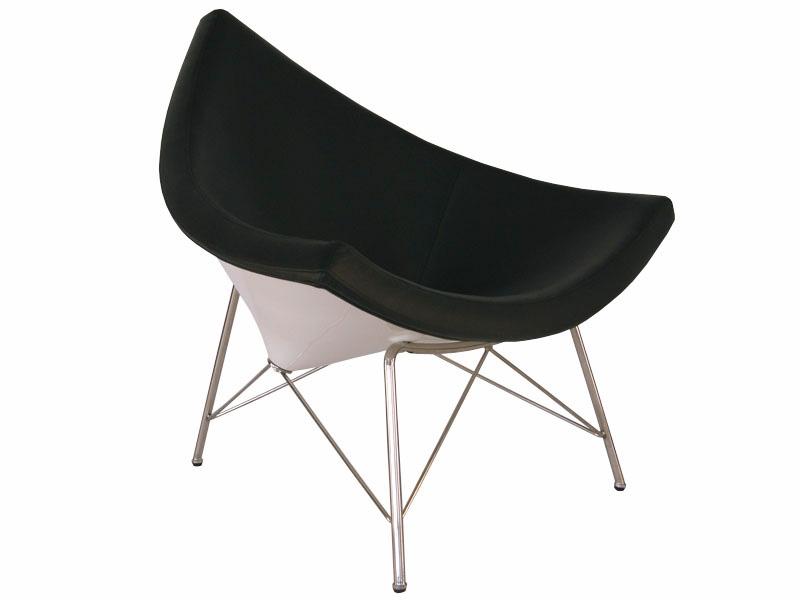 Copie de la chaise coconut george nelson noir imitation fauteuil coconut - Fauteuil barcelona copie ...