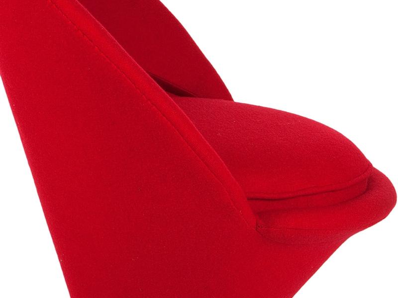 chaise panton c ne rouge. Black Bedroom Furniture Sets. Home Design Ideas