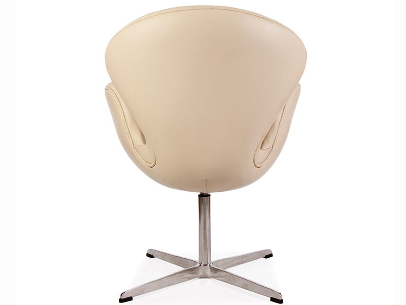 Image du fauteuil design Chaise Swan Arne Jacobsen - Beige