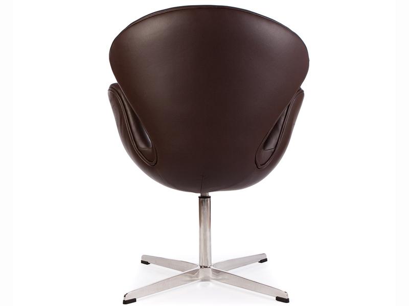 Image du fauteuil design Chaise Swan Arne Jacobsen - Marron