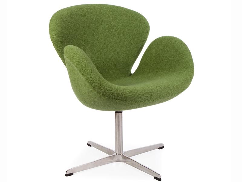 Chaise Swan Arne Jacobsen - Vert