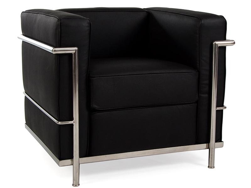 Image du fauteuil design COSY2 Poltrona - Nero
