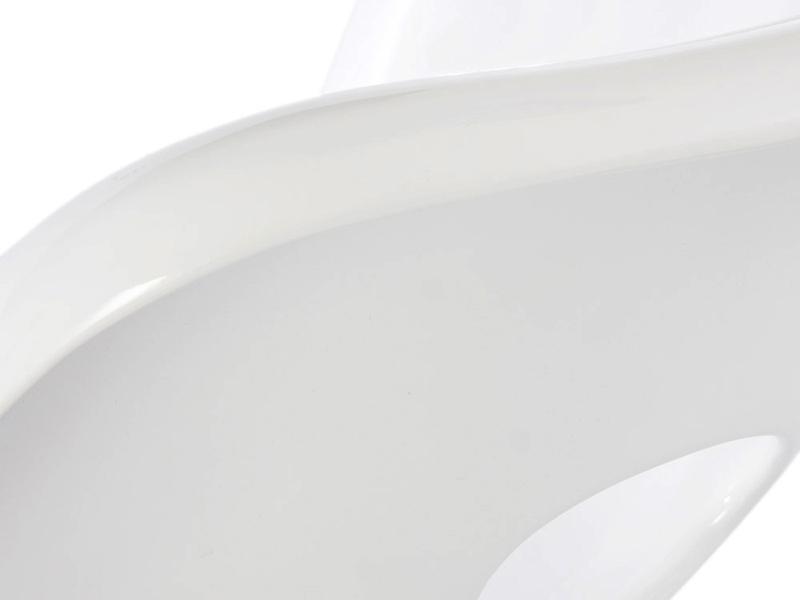 Image du fauteuil design Eames La Chaise - Bianco