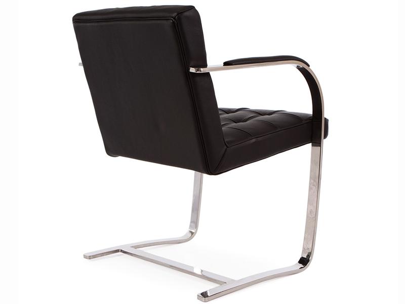 Fauteuil capitonn brno noir - Originele eames fauteuil ...
