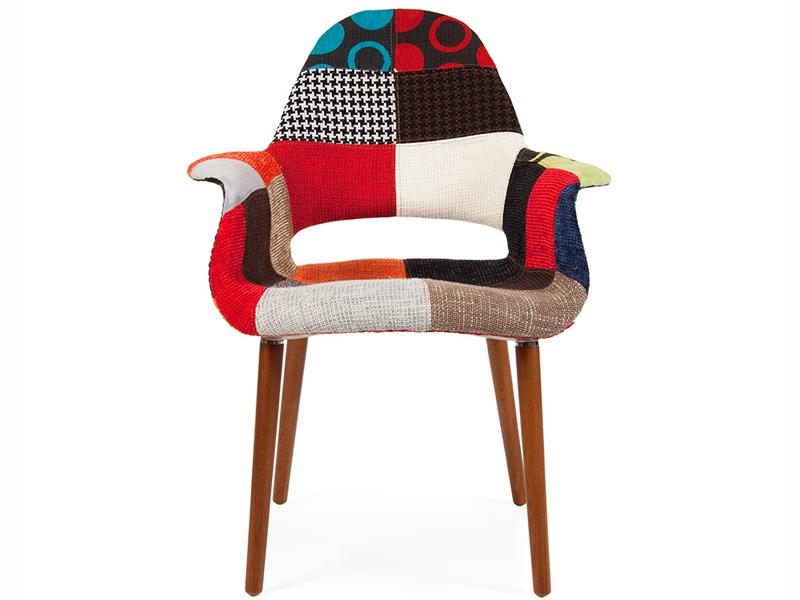Fauteuil eames organic patchwork - Fauteuil design patchwork ...