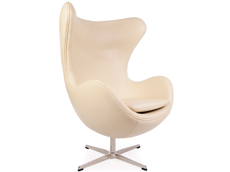 fauteuil egg arne jacobsen beige. Black Bedroom Furniture Sets. Home Design Ideas