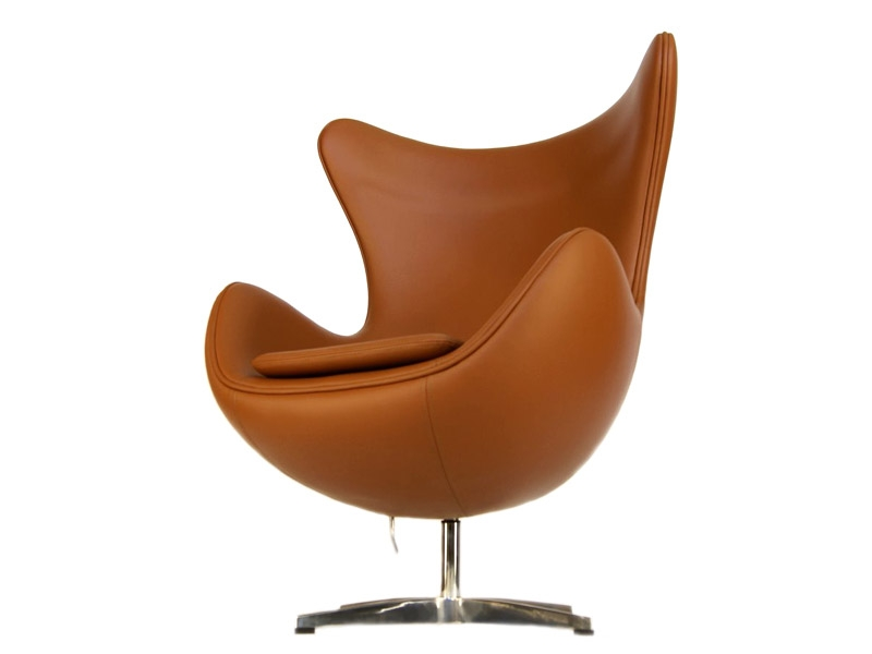 fauteuil egg arne jacobsen caramel. Black Bedroom Furniture Sets. Home Design Ideas