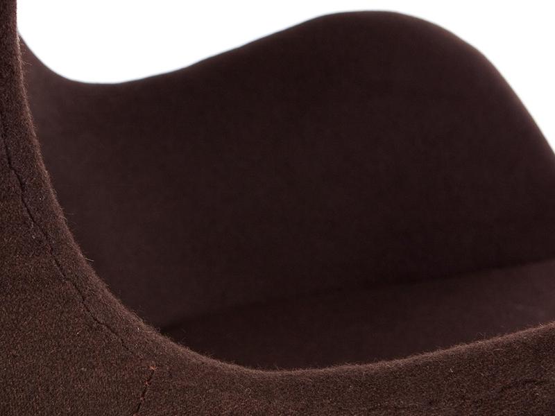 Image du fauteuil design Fauteuil Egg Arne Jacobsen - Marron