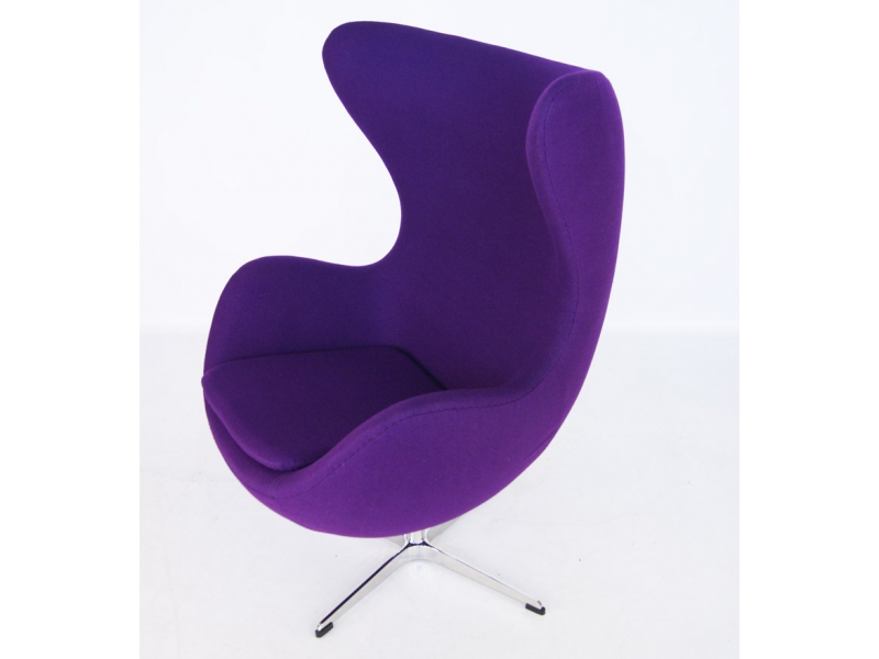 fauteuil egg arne jacobsen mauve. Black Bedroom Furniture Sets. Home Design Ideas