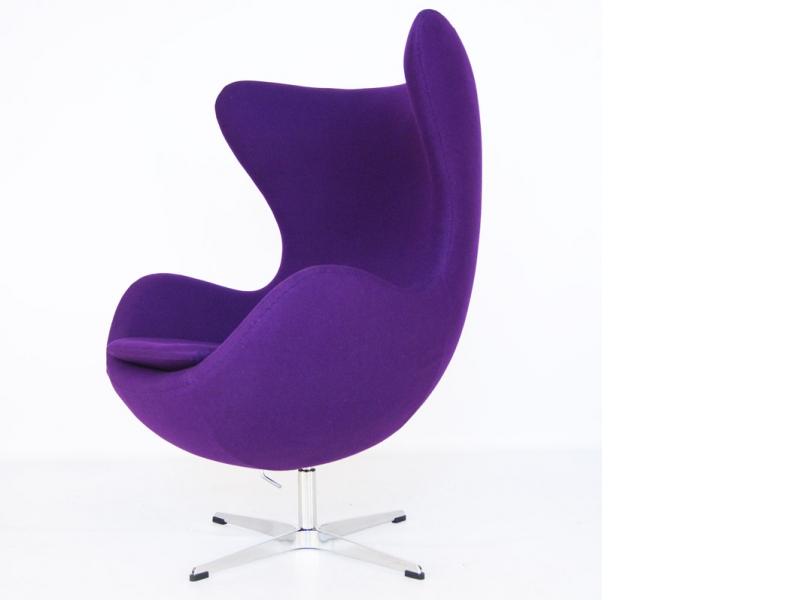 Image du fauteuil design Fauteuil Egg Arne Jacobsen - Mauve