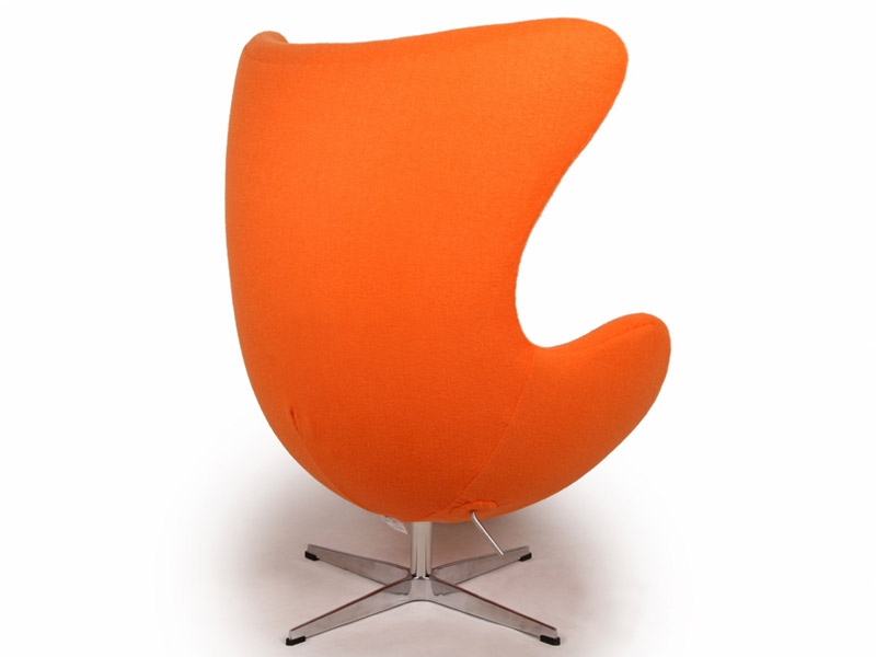 fauteuil egg arne jacobsen orange. Black Bedroom Furniture Sets. Home Design Ideas