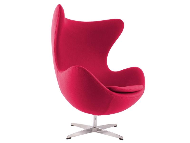 fauteuil egg arne jacobsen rose. Black Bedroom Furniture Sets. Home Design Ideas