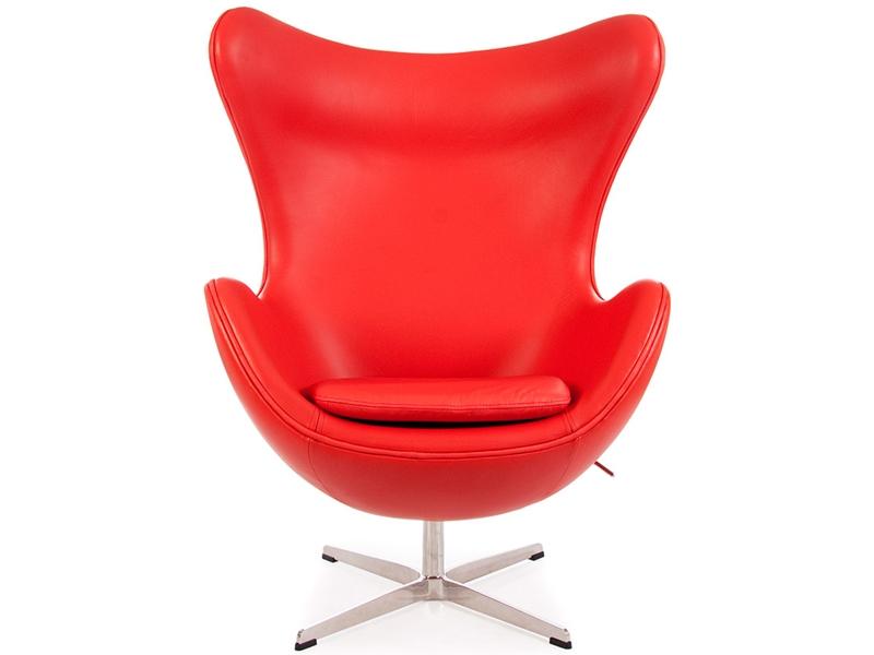 Image du fauteuil design Fauteuil Egg Arne Jacobsen - Rouge