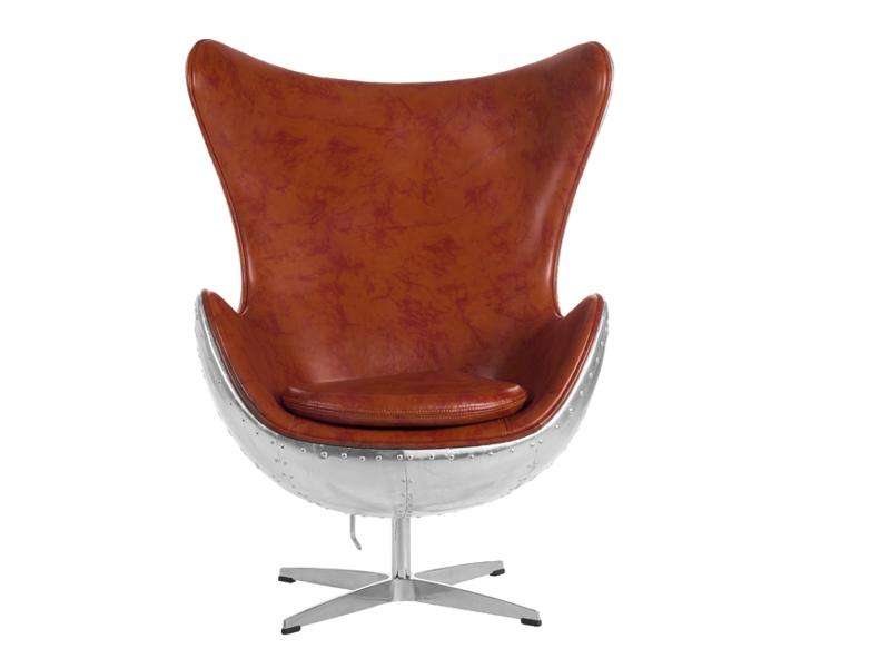 fauteuil egg spitfire aj havane. Black Bedroom Furniture Sets. Home Design Ideas