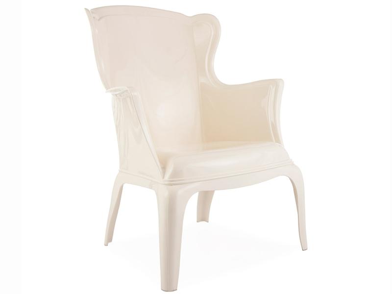 fauteuil henry blanc. Black Bedroom Furniture Sets. Home Design Ideas
