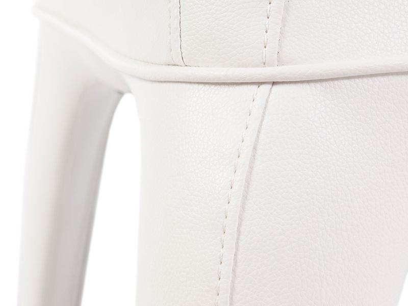 Image du fauteuil design Fauteuil Henry - Rembourré Blanc