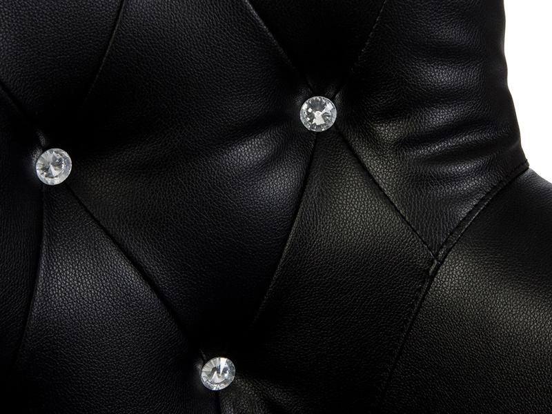 Image du fauteuil design Fauteuil Henry - Rembourré Noir
