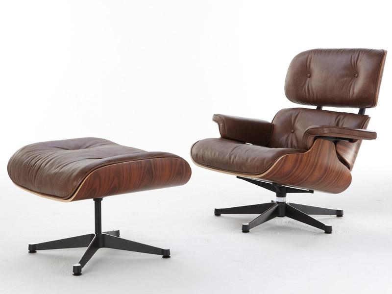 Image du fauteuil design Fauteuil Lounge Eames - Bois de rose