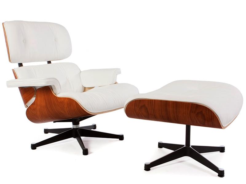 fauteuil lounge eames bois de rose