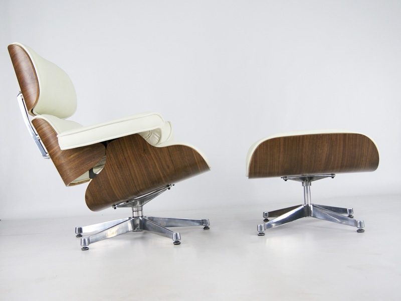 Fauteuil lounge eames noyer - Fauteuil de designer ...