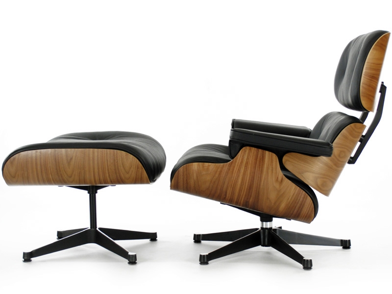 Fauteuil lounge eames noyer for Fauteuil eames vitra prix