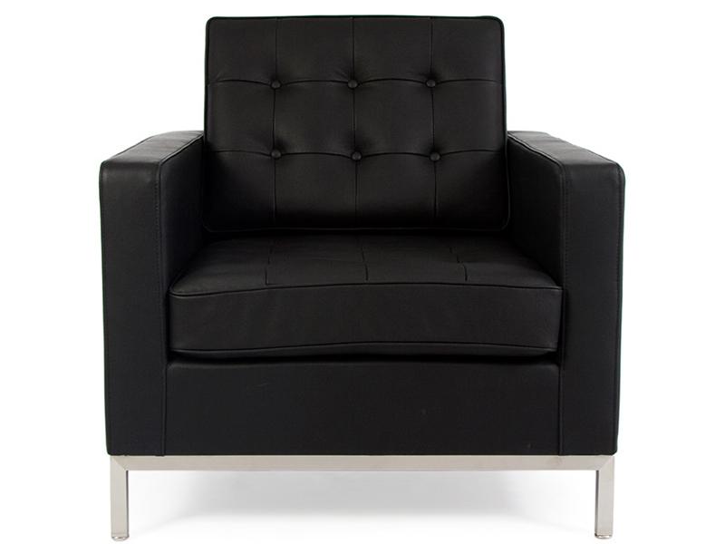 Fauteuil lounge knoll noir - Fauteuil de bureau knoll ...