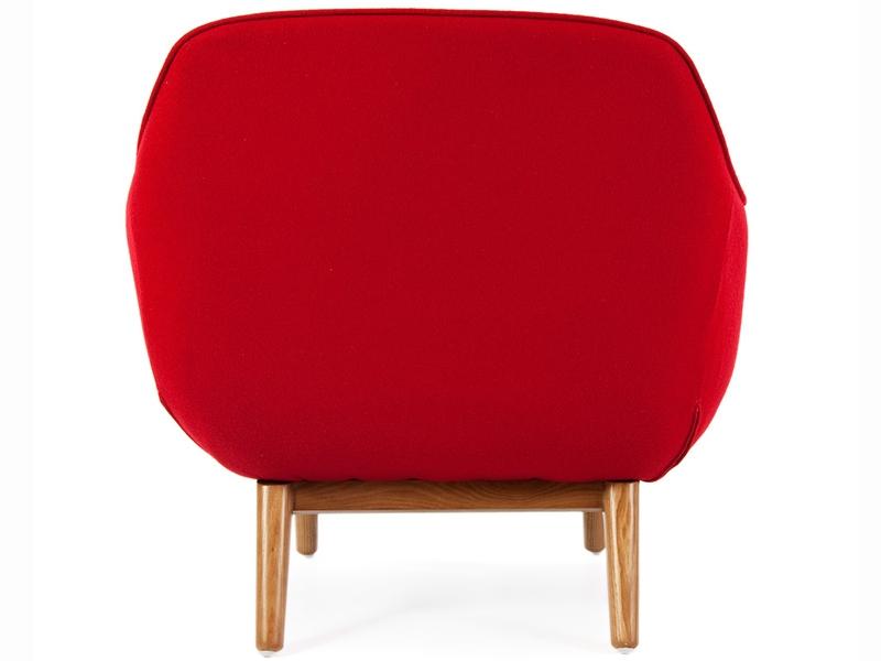 Image du fauteuil design Fauteuil Lusk - Rouge