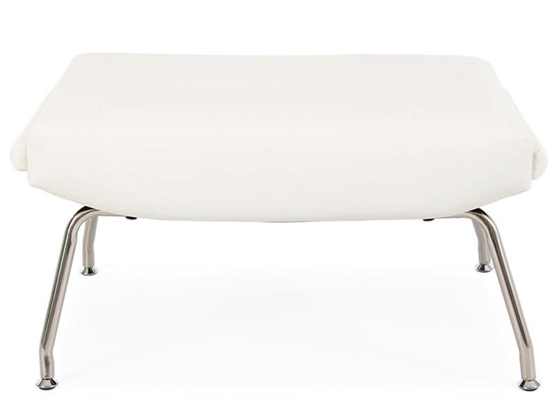 fauteuil ox wegner blanc. Black Bedroom Furniture Sets. Home Design Ideas