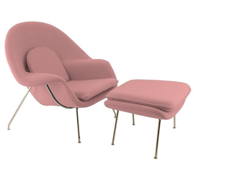 Image du fauteuil design Fauteuil Womb - Rose pâle