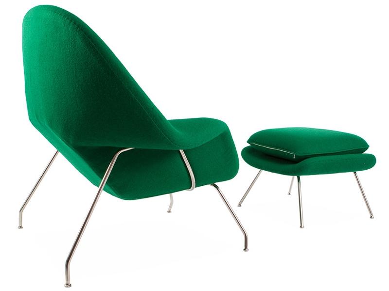Image du fauteuil design Fauteuil Womb - Vert émeraude