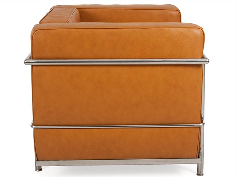 Image du fauteuil design LC2 Fauteuil Le Corbusier - Caramel