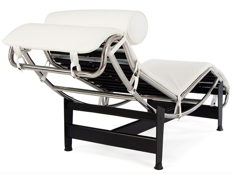 lc4 chaise longue blanc. Black Bedroom Furniture Sets. Home Design Ideas