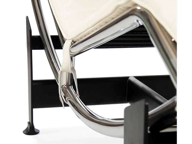 Image du fauteuil design LC4 Sedia a sdraio - Crema