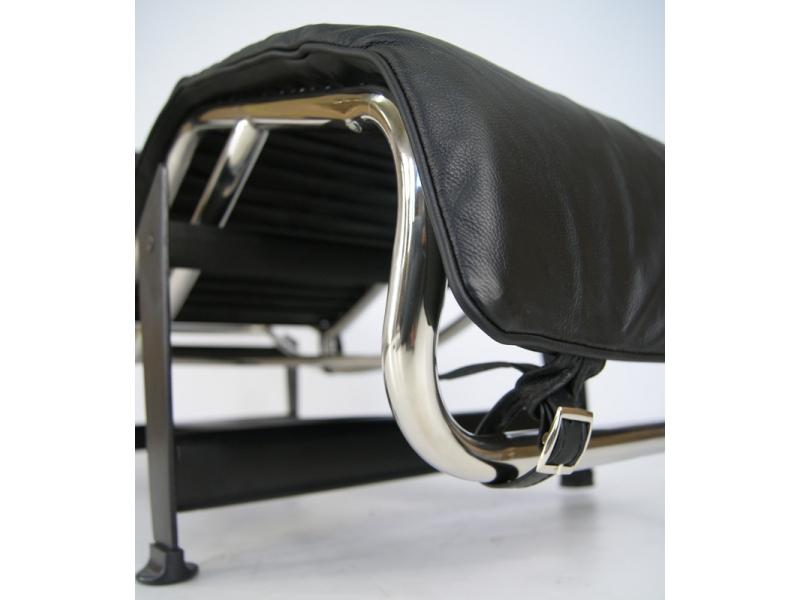 Image du fauteuil design LC4 Sedia a sdraio - Nero